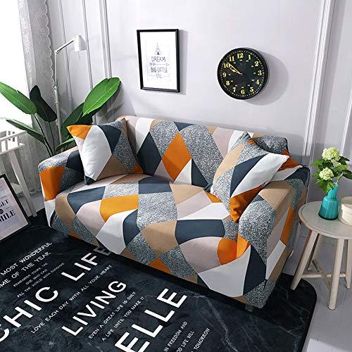 Raguso Protector de sofá Fundas Protector de cojín para Hotel para Dormitorio(Single Seat 90-140cm)