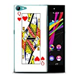 Phone Case for Wiko Highway Star 4G Playing Cards Queen of