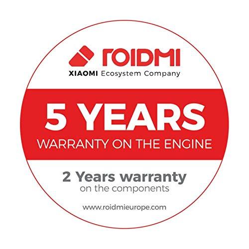 ROIDMI F8 Storm Pro - Aspirador sin cable, modelo europeo, 435 W, 135 AW y 23500 Pa, blanco