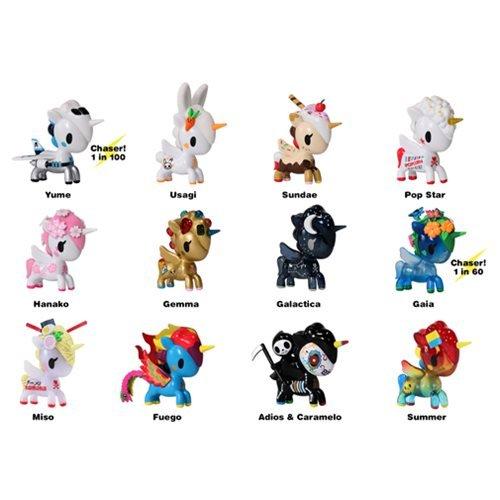 Tokidoki Unicorno Series 6 Vinyl Figure Random 4-Pack