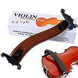 Maple Adjustable Violin Shoulder Rest EVA Foam Padded for 3/4 4/4 Size Violin (3/4 4/4 Violin or 12' 13' Viola Should Rest)