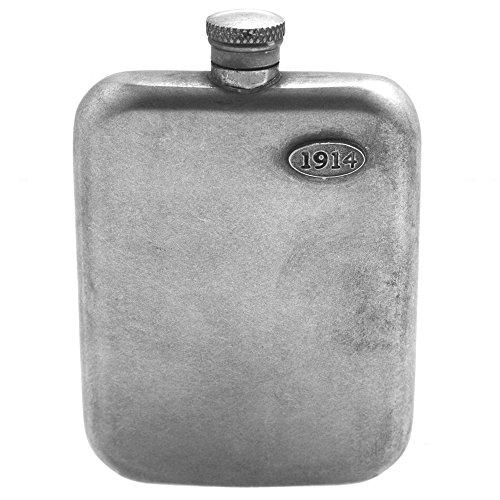 English Pewter Company 1914 Vintage Zinn-Flachmann [WW902]