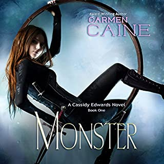 Monster audiobook cover art