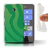 Phone Case for Nokia Lumia 635 Reptile Skin Effect Pit
