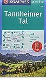 KOMPASS Wanderkarte Tannheimer Tal: 3in1 Wanderkarte 1:35000 mit Panorama inklusive Karte zur offline Verwendung in der KOMPASS-App. Fahrradfahren. ... Langlaufen. (KOMPASS-Wanderkarten, Band 4) - KOMPASS-Karten GmbH