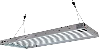 Sun Blaze T5 Fluorescent - 4 ft. Fixture | 8 Lamp | 120V - Indoor Grow Light Fixture for Hydroponic and Greenhouse Use