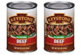 Keystone Meats All Natural Canned Beef, Ground, 14 Ounce (Pack of 2)