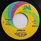 BRIAN HYLAND 45 RPM LORRAYNE / LONELY TEARDROPS