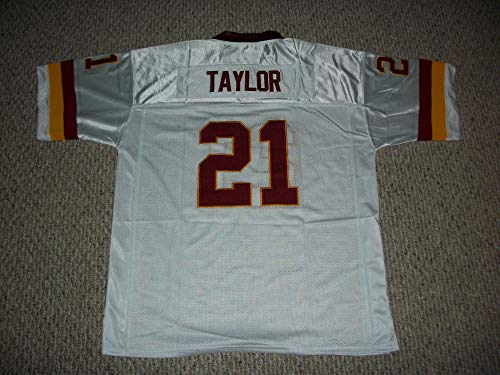 Unsigned Sean Taylor #21 Washington Custom Stitched White Football Jersey Various Sizes New No Brands/Logos (L)
