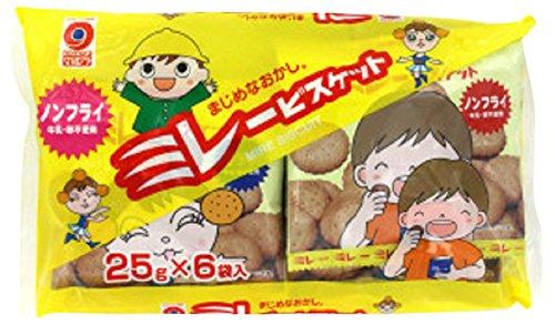 野村煎豆加工店 小袋6袋ノンフライミレービスケット