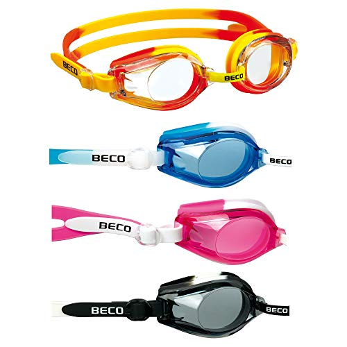 Beco Profischwimmbrille für Kinder und Jugendliche Farbe: schwarz-Weiss