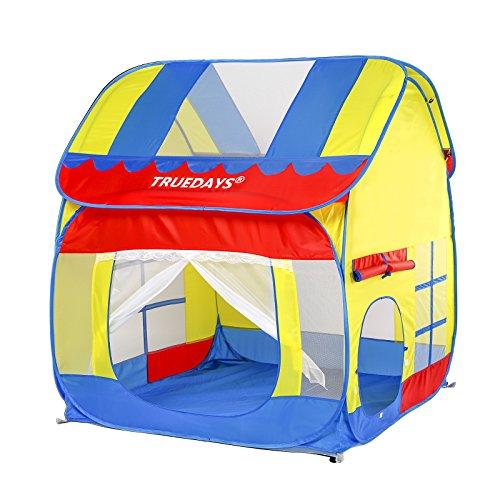 Truedays Kids Outdoor Indoor Fun Play Big Tent Playhouse,...