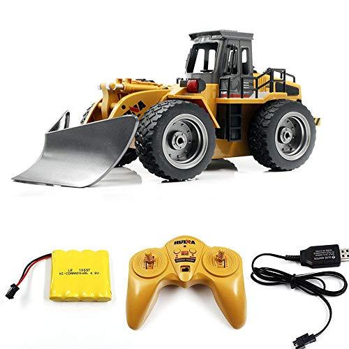Multifunktionale 6-Kanal RC Schneekehrmaschine Fahrzeug helleres Licht Ton Modell Kinder Spielzeug-Sammlung (Größe : 3 Batteries)