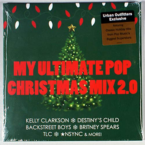 My Ultimate Pop Christmas Mix 2.0 - Exclusive Limited Edition Black Vinyl LP #/3000