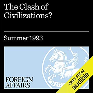 The Clash of Civilizations? audiobook cover art