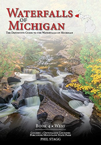 Waterfalls of Michigan - Book 4 • West