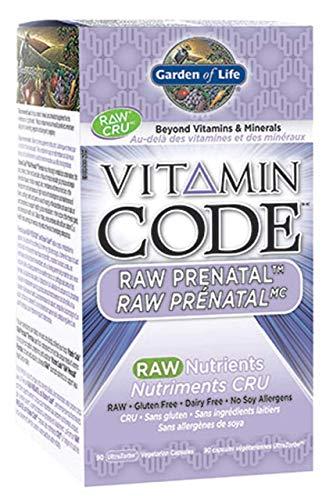 Garden of Life - Vitamin Code Raw Prenatal - 90 Veg Caps