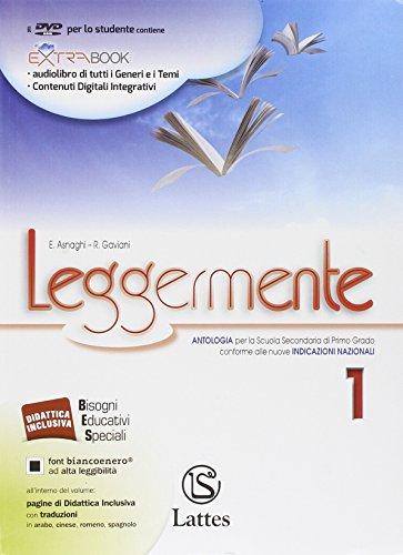 Leggermente. Il mito e l'epica. Libro delle competenze.Con DVD ROM:1