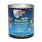 POR-15 OEM Bed Liner - Truck Bed & Underbody Coating - Black - 1 qt - Rust Protection & Impact...