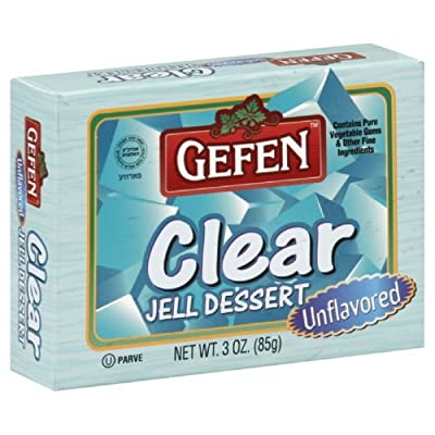 clear gelatin, End of 'Related searches' list