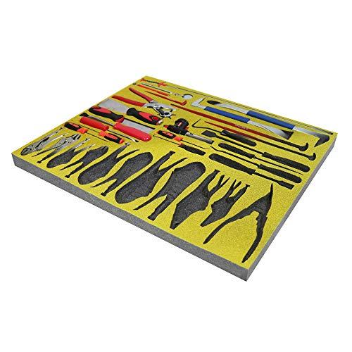 Shadow Foam - Gelb - Werkzeugkiste Organisation | Schaumstoffeinlage (30mm)