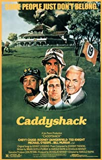 Pop Culture Graphics Caddyshack 27x40 Movie Poster