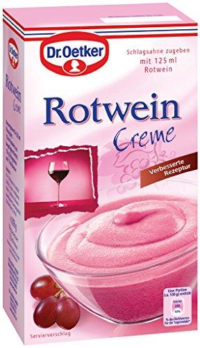 Dr. Oetker Rotwein Creme, 7er Pack (7 x 235 g)