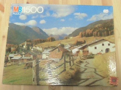MB Puzzle -Unter Engadin- 1500 Teile.