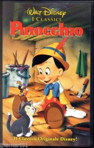 Walt Disney I CLASSICI Pinocchio (VHS)
