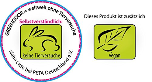 Greendoor Fellpflegespray mit Bio Melisse, Aloe Vera Saft und Lavendel aus der Barreme, 100ml natürliche Fellpflege als ölfreies Spray, pflegt das Fell, beruhigt die Haut, duftet natürlich, verbessert die Kämmbarkeit, 100% Natur, Tierpflege aus der Naturkosmetik Manufaktur Greendoor - 2