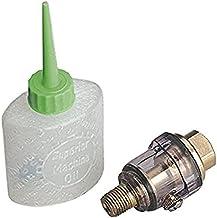 """Sealey SA111 Mini In-Line Air Tool Oiler 1/4""""BSP met Filler"""