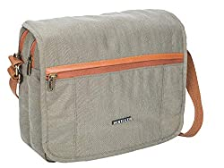 KILLER Polyester Crossbody Messenger Sling Bag (Green),Killer,400170680002