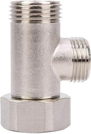KES V/¨lvula Desviadora Ducha Brazo Universal Sistema Componente Recambio Parte para Mano Cabo y Fijo Aerosol Cabeza PV14 Cromo