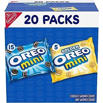 OREO Mini Mix Sandwich Cookies Variety Pack 20 - 1 oz Snack Packs