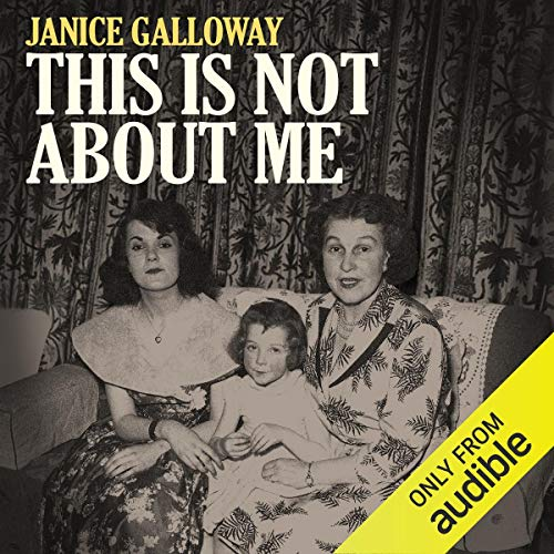 This Is Not About Me audiobook cover art