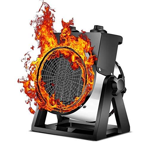 QIULAO Calentador de Patio al aire libre eléctrico 2000W calentador de patio portátil, PTC calentador de cerámica del calentador eléctrico portátil del ventilador interior Pabellón de jardín Garaje ca