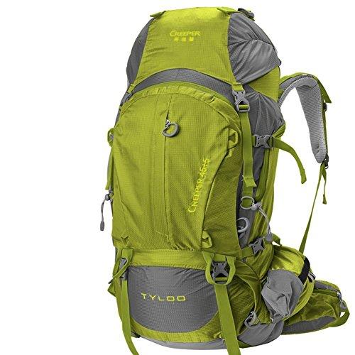 Sincere® Package / / Portable Sac/Sac à Dos/de Voyage en Plein air Sacs à Dos/Ultraléger extérieure épaule d'alpinisme 50L-70L ArmyGreen
