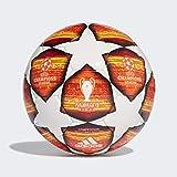 adidas DN8687, Pallone Uomo, Bianco/Active Rosso/Scarlet/Solar Rosso, 5