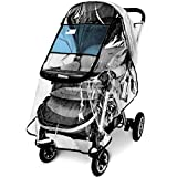 Stroller Rain Cover,Universal Stroller Accessory,Waterproof, Windproof Protection,Protect ...