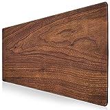 Alfombrilla de ratón XXL para videojuegos, 900 x 400 cm, aspecto de madera, alfombrilla de ratón gra...