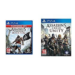 Product 1: A brash rebel assassin - Become Edward Kenway, a charismatic yet brutal pirate captain, trained by Assassins Product 1: Explore an open world filled with opportunities - Discover the largest and most diverse Assassin's Creed world ever cre...
