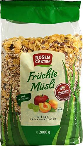 Rosengarten Bio Früchte-Müsli (2 x 2000 gr)