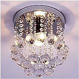 ZEEFO Crystal Chandeliers Light, Mini Style Modern...