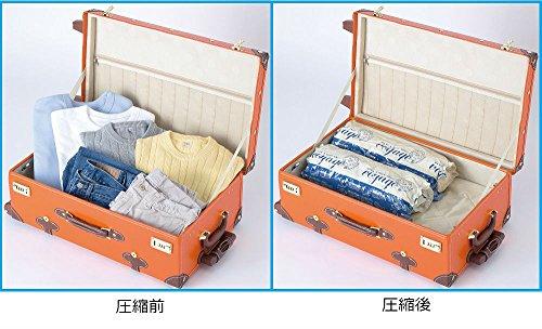 東和産業圧縮袋VO押すだけ衣類圧縮パックL2枚入り