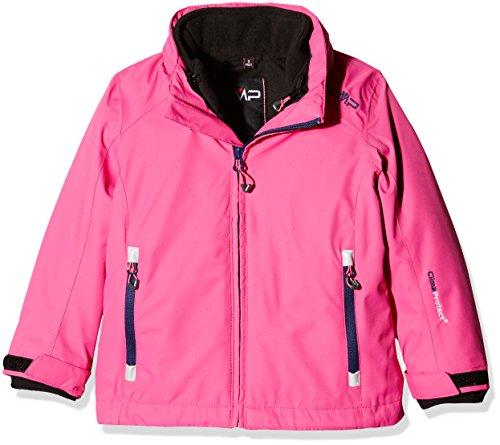 CMP Mädchen Doppeljacke Jacke, Hot Pink, 152