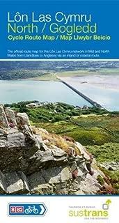 lon las cymru route map