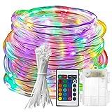 GXLO LED-Trampolin-Leuchten, Trampolin Outdoor Night Play Trampolin-Licht LED-Lichtleiste Trampolin-Nachtlampe-Spielzeug Für Kinder springende Bettlichter,6ft
