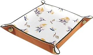 Boîte de rangement pliable en cuir PU pour bureau avec porte-monnaie, porte-monnaie, porte-monnaie, porte-monnaie, porte-m...