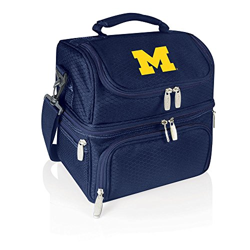 NCAA Michigan Wolverines Pranzo Insulated Lunch Tote, Navy