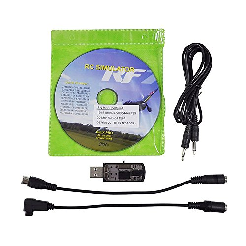 HuntGold nuevo todos los 20-in-1 cable de simulador de vuelo/USB para RC helicóptero avión para el coche